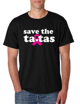Save the ta tas Breast Cancer men T-Shirts