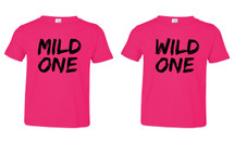 Mild One Wild One Fine Jersey Toddler T-shirts set