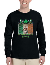 Men's Long Sleeve Irish Conor Final St Patrick's Day Shirt