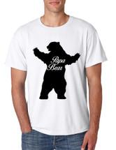 Men's T Shirt Papa Bear Family Shirt For Dad Xmas Cute Gift