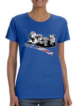 Women's T Shirt 4 Fathers American Team 4th Of July Tee