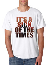 Men's T Shirt It's A Sign Of The Times Styles Shirt Popular Top