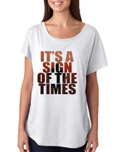 Women's Dolman It's A Sign Of The Times Styles Popular Song