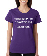 XL, Purple Allntrends Adult Sweatshirt in The Name of I Charge You Cool Top Trendy Gift