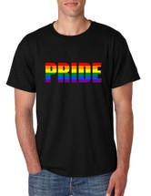 Men's T Shirt Pride Rainbow Colors Gay Love Parade Tee