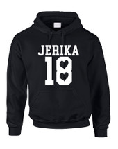 Adult Hoodie Jerika 18 Cool Top Trendy Hooded Sweatshirt