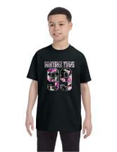 Kids Youth T Shirt Martinez Twins 99 Flower Print Trendy Shirt