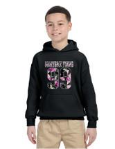 Kids Youth Hoodie Martinez Twins 99 Flower Print Trendy Top