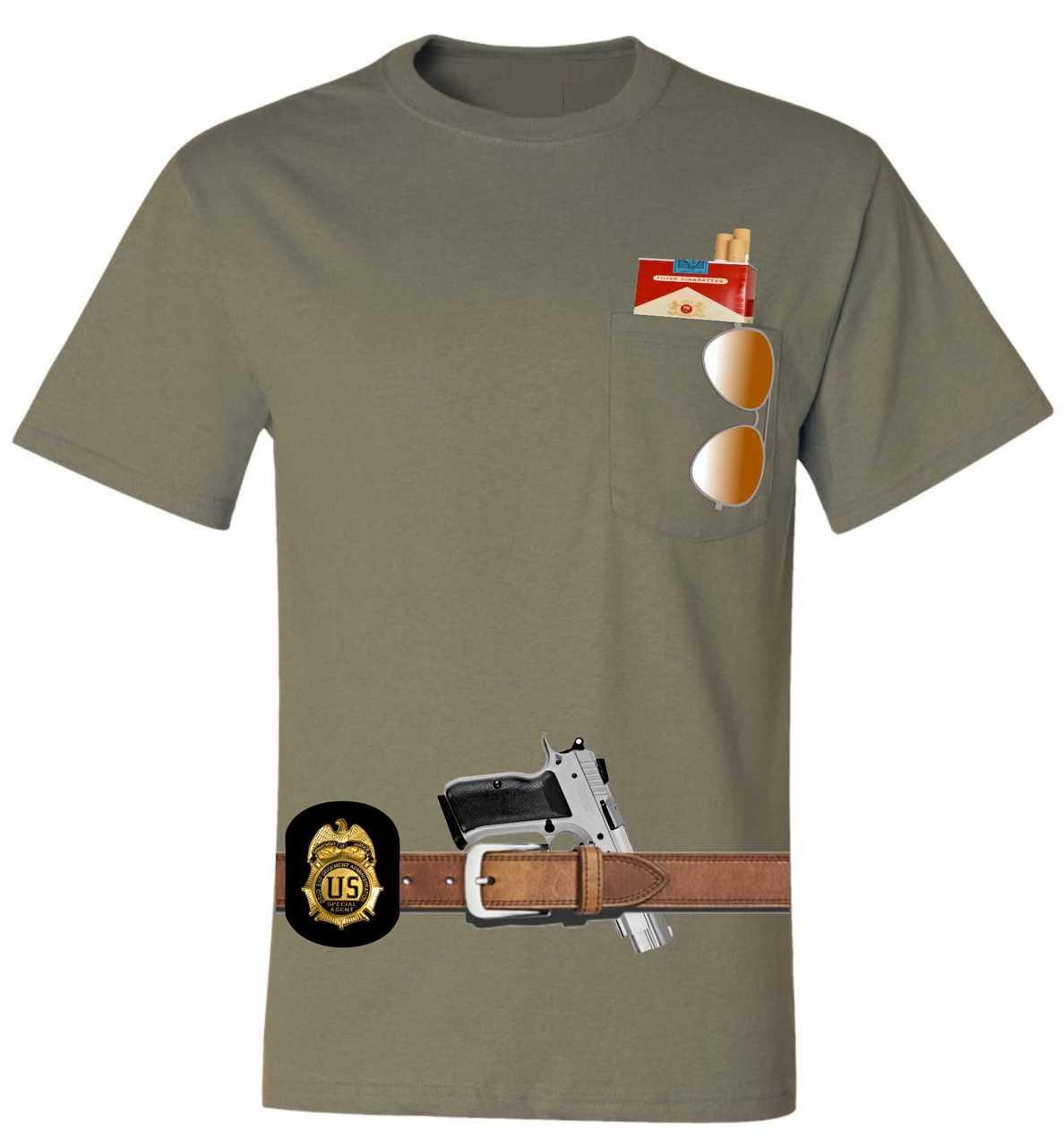 Halloween Shirt Ideas.Adult Pocket T Shirt Javier Pena Costume Best Halloween Ideas