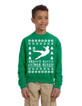 Kids Youth Sweatshirt Jingle Balls Soccer Ugly Xmas Sport Fans Top