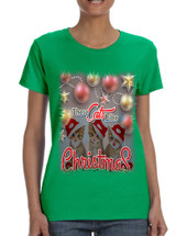 Women's T Shirt These Cats Like Christmas Cute Tee Cat Lover Gift