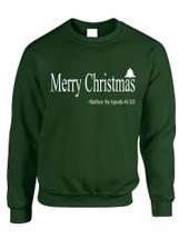 Adult Sweatshirt Matthew The Apostle Merry Christmas Gift Idea