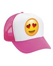 Emoji Smiley Heart Valucap Foam Trucker Cap
