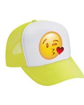 Emoji Kiss Valucap Foam Trucker Cap