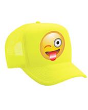 Emoji Winking eye  Valucap Foam Trucker Cap