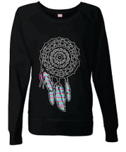 Women Long Sleeve Shirt dream catcher