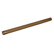 "Ceiling Support for 4150 Rod 30"", Polished Brass"