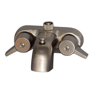 "Diverter Bathcock Spout 3/8"" Connection, Brushed Nickel"