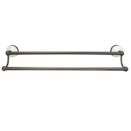"""Anja Double Towel Bar 24"""" Oil Rubbed Bronze Finish"""