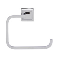 Stanton Towel Ring in Polished Chrome