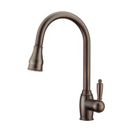 Bay 1 Kitchen Faucet, Pull-Out Sprayer, Single Lever Handle, Oil Rubbed Bronze