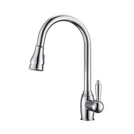 Bay 2 Kitchen Faucet, Pull-Out Sprayer, Single Lever Handle, Chrome