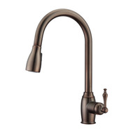 Bristo 1 Kitchen Faucet, Pull-Out Sprayer, Single Lever Handle, Oil Rubbed Bronze