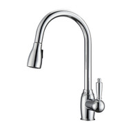 Bristo 2 Kitchen Faucet, Pull-Out Sprayer, Single Lever Handle, Chrome