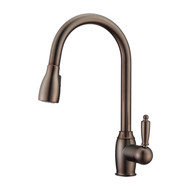 Bristo 2 Kitchen Faucet, Pull-Out Sprayer, Single Lever Handle, Oil Rubbed Bronze