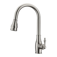 Caryl 1 Kitchen Faucet, Pull-Out Sprayer, Single Lever Handle, Brushed Nickel