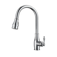 Caryl 1 Kitchen Faucet, Pull-Out Sprayer, Single Lever Handle, Chrome