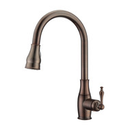Caryl 1 Kitchen Faucet, Pull-Out Sprayer, Single Lever Handle, Oil Rubbed Bronze