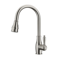Caryl 2 Kitchen Faucet, Pull-Out Sprayer, Single Lever Handle,  Brushed Nickel