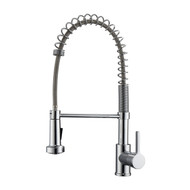 Niall 1 Kitchen Faucet, Spring, Pull-out Sprayer, Lever Handle, Chrome