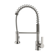 Niall 2 Kitchen Faucet, Spring, Pull-out Sprayer, Lever Handle, Brushed Nickel
