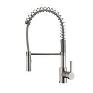 Nikita 1 Kitchen Faucet, Spring, Pull-out Sprayer, Lever Handle, Brushed Nickel