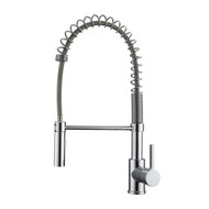 Nikita 1 Kitchen Faucet, Spring, Pull-out Sprayer, Lever Handle, Chrome