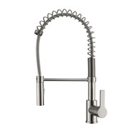 Nikita 2 Kitchen Faucet, Spring, Pull-out Sprayer, Lever Handle, Brushed Nickel