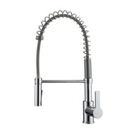 Nikita 2 Kitchen Faucet, Spring, Pull-out Sprayer, Lever Handle, Chrome