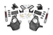 2IN / 4IN GM Lowering Kit (07-14 1500 PU 2WD)