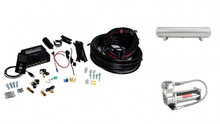 "3/8"" Air Lift 3P Kit with 4 Gallon 5 Port Tank"