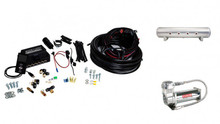 "3/8"" Air Lift 3P Kit with 4 Gallon 7 Port Tank"
