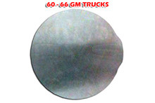 1960 to 1966 GM Gas Door Filler Plate