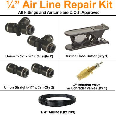 """1/4 """" airline repair kit"""
