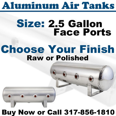 2.5 Gallon Aluminum Air Tanks
