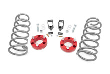 3in Toyota Series II Suspension Lift Kit (03-09 4-Runner 4WD w/X-REAS)Red & Aluminum