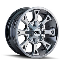 Cali Off-Road Anarchy PVD2 Chrome 20X9 8-180 18mm 124.1mm