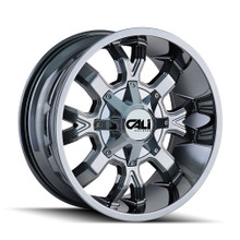 Cali Off-Road Dirty PVD2 Chrome 22X10 5-127/5-139.7 -19mm 87mm
