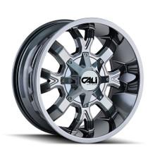 Cali Off-Road Dirty Chrome 20X9 5-127/5-139.7 18mm 87mm