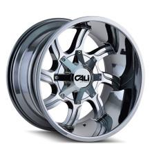 Cali Off-Road Twisted Chrome 20X14 6-135/6-139.7 -76mm 108mm